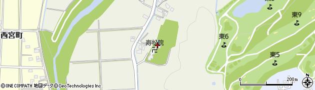 寿松院周辺の地図