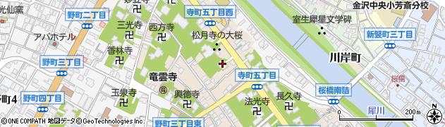伏見寺周辺の地図
