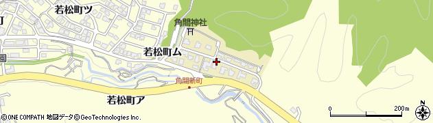 石川県金沢市角間新町周辺の地図
