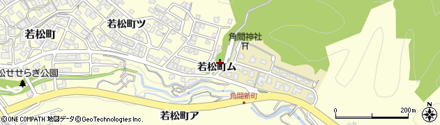 石川県金沢市若松町(ム)周辺の地図