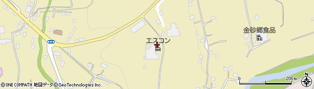 茨城県常陸太田市高柿町周辺の地図