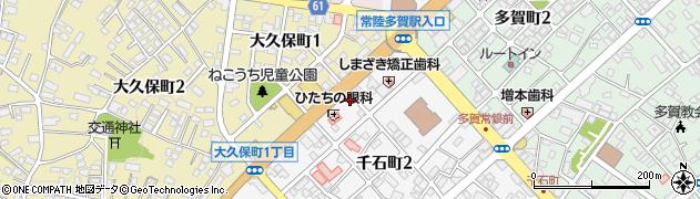 キダ美容室周辺の地図