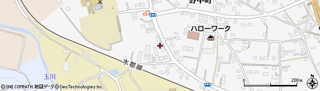 松永寝具店周辺の地図