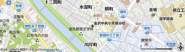 石川県金沢市杉浦町周辺の地図