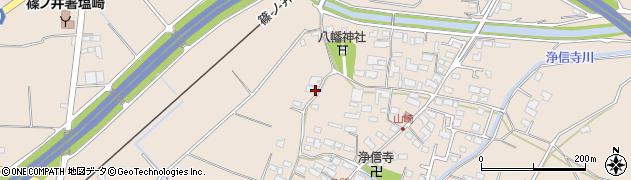 長野県長野市篠ノ井塩崎(山崎)周辺の地図