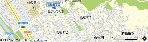 石川県金沢市若松町(警備野)周辺の地図
