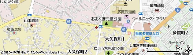 公文式大久保町教室周辺の地図