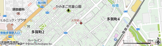 マーサ周辺の地図