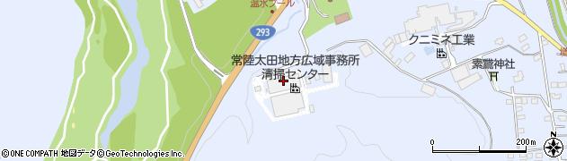 常陸太田市役所 清掃センター周辺の地図