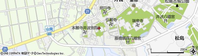 誓立寺周辺の地図