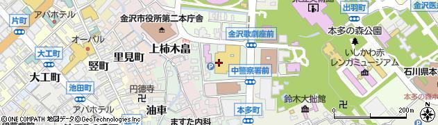 石川県金沢市下本多町(6番丁)周辺の地図