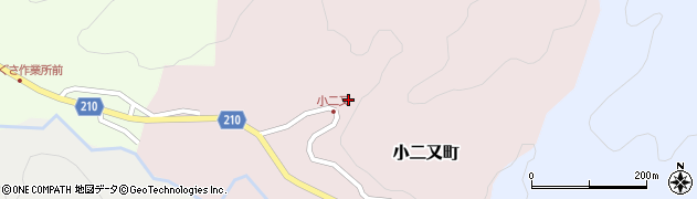 石川県金沢市小二又町(チ)周辺の地図
