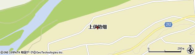 茨城県常陸大宮市上伊勢畑周辺の地図