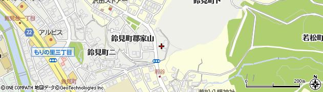 石川県金沢市鈴見町周辺の地図