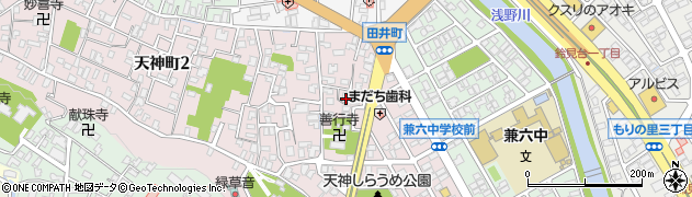 田井菅原神社周辺の地図