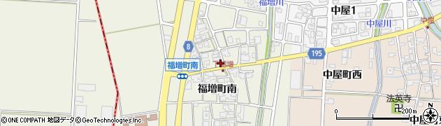 石川県金沢市福増町(南)周辺の地図
