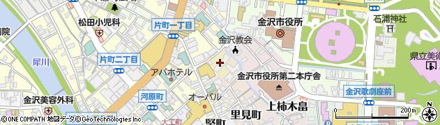 石川県金沢市下柿木畠周辺の地図