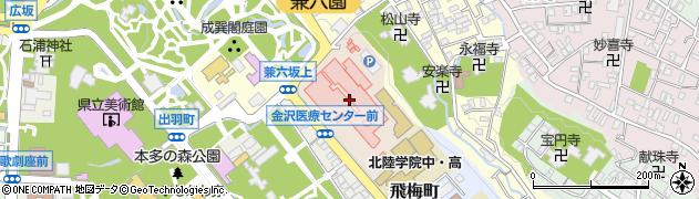 石川県金沢市下石引町周辺の地図