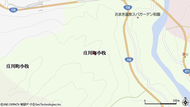 〒932-0304 富山県砺波市庄川町前山の地図