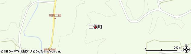 石川県金沢市二俣町周辺の地図