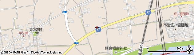 長野県長野市篠ノ井塩崎周辺の地図