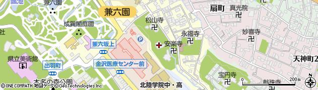 鶴林寺周辺の地図