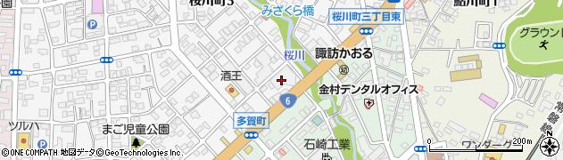 富士祭典日立店周辺の地図