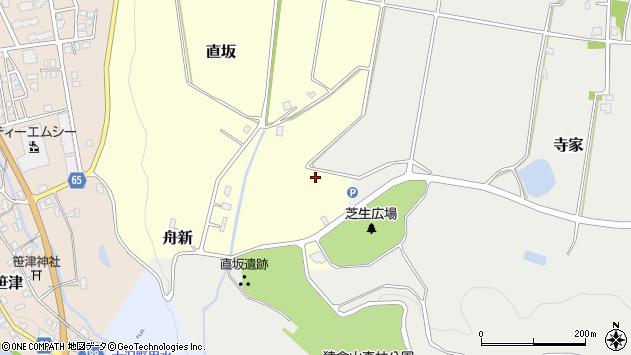 〒939-2215 富山県富山市直坂の地図