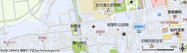 長野県長野市松代町(松代清須町)周辺の地図