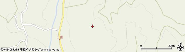 長野県大町市美麻(二重)周辺の地図