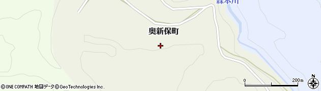 石川県金沢市奥新保町(ら)周辺の地図