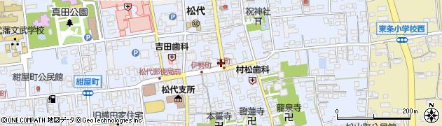 長野県長野市松代町松代周辺の地図
