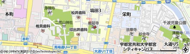 能延寺周辺の地図