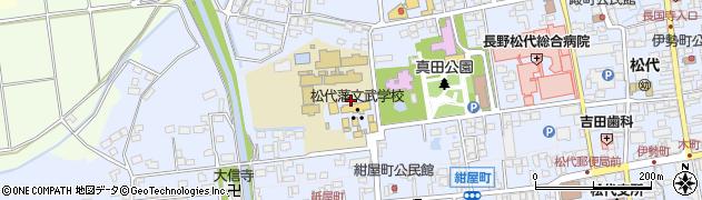 長野県長野市松代町(松代紺屋町)周辺の地図