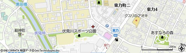 石川県金沢市東力町(ハ)周辺の地図