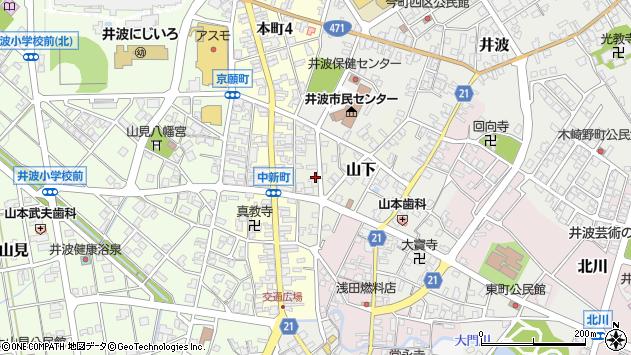 〒932-0215 富山県南砺市山下の地図