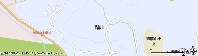 茨城県常陸大宮市野口周辺の地図