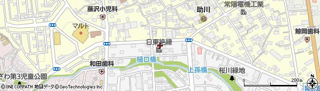 日東絶縁株式会社 茨城工場周辺の地図