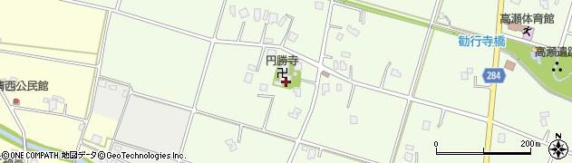 円勝寺周辺の地図