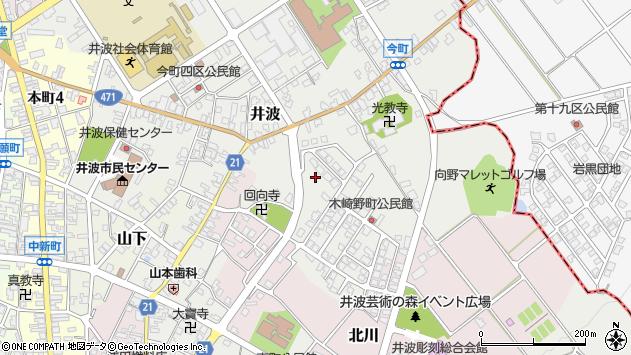 〒932-0213 富山県南砺市井波栄町の地図