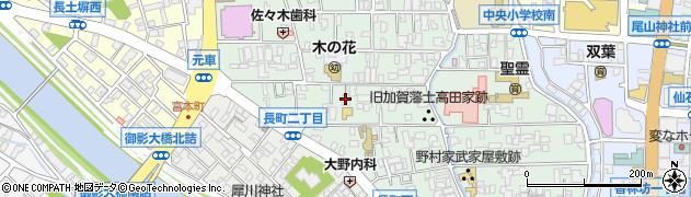 等雲寺周辺の地図