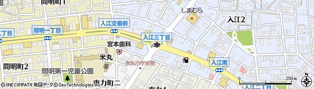 入江3周辺の地図