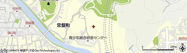 石川県金沢市常盤町周辺の地図