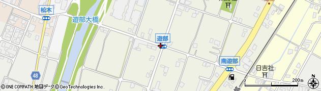 遊部周辺の地図
