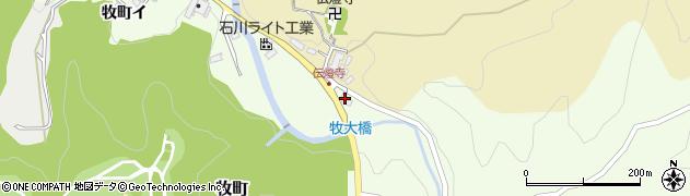 石川県金沢市牧町(ロ)周辺の地図