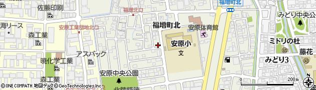石川県金沢市福増町(北)周辺の地図