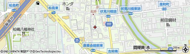 石川県金沢市古府周辺の地図
