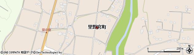 茨城県常陸太田市里野宮町周辺の地図
