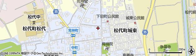 長野県長野市松代町(松代下田町)周辺の地図