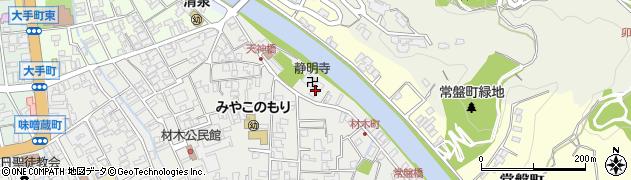 静明寺周辺の地図